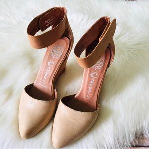 Jeffrey Campbell Tatum Wedges Shoes Sz 7